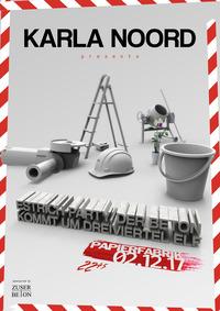 Estrich-Party, der Beton kommt um dreiviertel Elf@Papierfabrik Kunstfreiraum