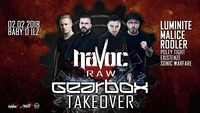 Havoc Raw: Gearbox Takeover@Baby'O
