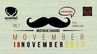 Mustache Sauvage VOL7 - Movember@Wildwechsel