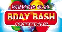 B-Day Bash November 2017@Eventhouse Freilassing
