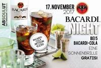 Bacardi Night / Bacardi Cola €2,50@Absoulut