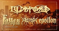 Illdisposed (DK), Fallen Utopia Album Release, Erebos, Epsilon@Volxhaus - Klagenfurt
