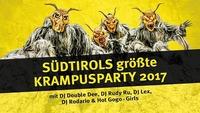 Südtirols Größte Krampusparty 2017@