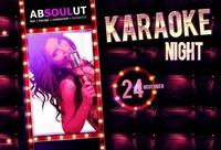 KARAOKE NIGHT@Absoulut
