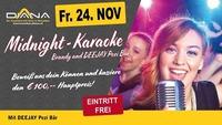 Karaoke , mit Brandy und Pezi Bär@Diana