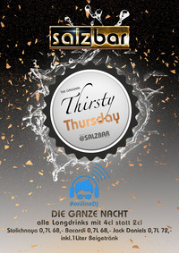 Thirsty Thursday/OnlineDJ @Salzbar
