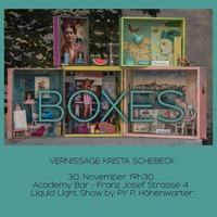 Vernissage: Krista Schebeck@academy Cafe-Bar