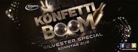 Konfetti Boom Silvester Edition 2018 im Empire Salzburg@Empire Club