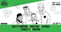 Fear le Funk – Guilty Simpson, Phat Kat, Percee P & Kutmah@Fluc / Fluc Wanne