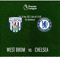 West Bromwich vs Chelsea@Chelsea Musicplace