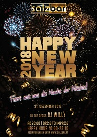 Salzbar Silvester/DJ Willy