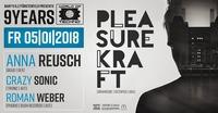 9 Years World of Techno with Pleasurekraft & Anna Reusch@Baby'O