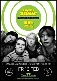 Supersonic - 90s MOST Wanted - Tribute to Smashing Pumpkins@Viper Room