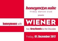 Honeymoon with Wiener feat. Greg Bannis / ex Hot Chocolate@Elysium