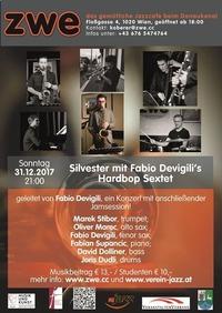Silvester mit Fabio Devigili Hardbop Sextett@ZWE