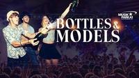Bottles & Models - Safe Water – Drink Champagne!@Musikpark-A1