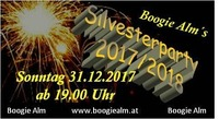 Silvesterparty 2017/2018@Boogie Alm