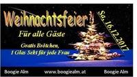 Weihnachtsfeier@Boogie Alm
