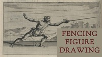 Fencing Figure Drawing Session@Mon Ami