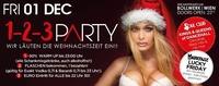 1- 2 – 3 PARTY – wir läuten die Weihnachtszeit ein!@Bollwerk