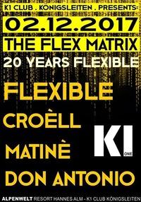 The Flex Matrix | 20 Years Flexible@Hannes Alm & K1 Club Königsleiten
