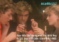 Your 80s Christmas with The Wild Boy @ Coco Bar@Coco Club