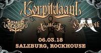 Korpiklaani, Heidevolk, Trollfest@Rockhouse