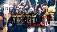 Membercard Weihnachtsfeier mit Mr. Bean@Evers