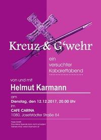 Kreuz & G'wehr@Café Carina