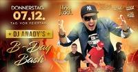 DJ Anady's B-Day Bash@Kino-Stadl
