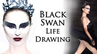 Black Swan Life Drawing@Mon Ami