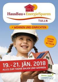 HausBau + EnergieSparen Tulln 2018@Messe Tulln