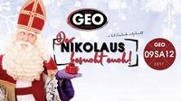 Der Nikolaus hat Geschenke mit@GEO