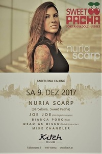 Nuria Scarp - Sweet Pacha at Kitch Club@Tiffanys Club