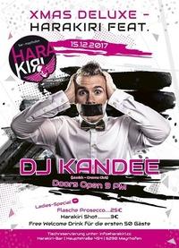 XMAS Deluxe – Harakiri FEAT. DJ Kandee (Munich – Crowns Club)@Harakiri Bar