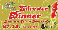 Silvester Dinner im Rathausinnenhof Korneuburg@Rathaus Café-Bar