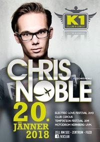 CHRIS NOBLE at K1 Club Zell am See!@K1 CLUB