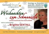 Der GenussSpiegel präsentiert: Weihnachten zum Schmunzeln – Lachen macht das Fest noch schöner!@Genuss-Spiegel - Café, Kunst & Kulinarik