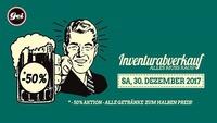 Inventurabverkauf - Alles muss raus im GEI Musikclub, Timelkam@GEI Musikclub