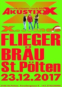 23.12. Live AkustixxX X-Mas Party@Flieger-Bräu