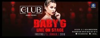 BABY G live @TheClub@Club Liberty
