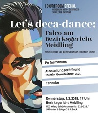 Let's deca-dance - Falco am Bezirksgericht Meidling@U4