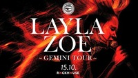 Layla Zoe - Gemini Tour 2018 - Blue Monday / Rockhouse Salzburg@Rockhouse