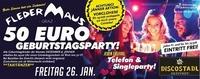 DEINE €50.- Geburtstagsparty@Fledermaus Graz