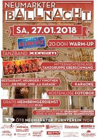 Neumarkter Ballnacht 2018@Turnerheim Neumarkt