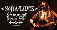 Sofia Talvik - Live - AMERICAN FOLK MADE IN SCHWEDEN