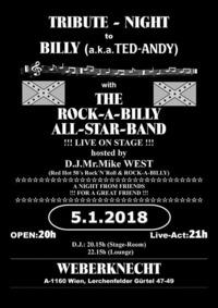 Tribute Night to Billy (aka Ted-Andy)@Weberknecht