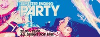Semester Ending Party /// ALL Drinks for Free@Warehouse