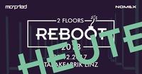 Reboot 2018 NYE Showdown on 2 Floors@Tabakfabrik