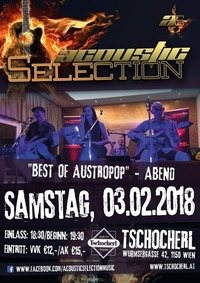 Acoustic Selection – Best of Austropop@Kultur Verein Tschocherl